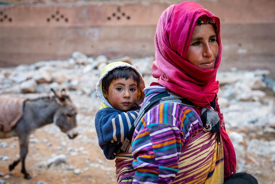 Berber village, Morocco