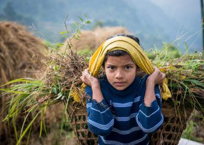 Nepalese girl
