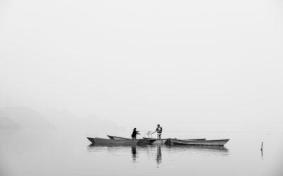 Fishermen in Nepal