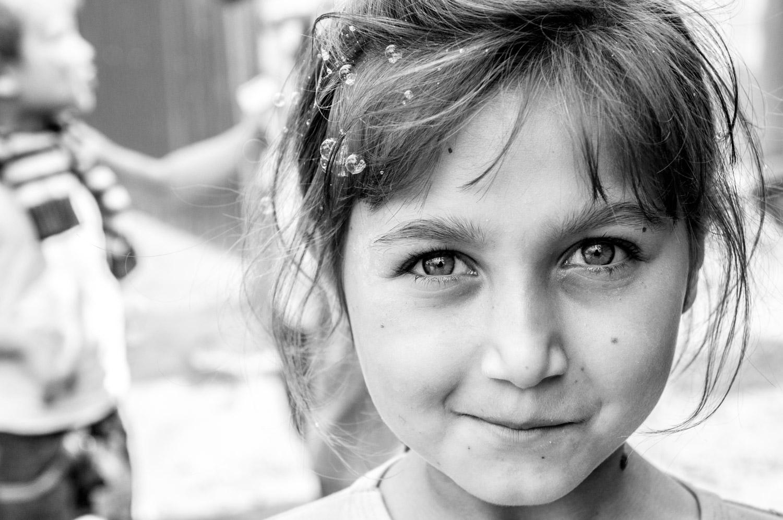 Roma girl