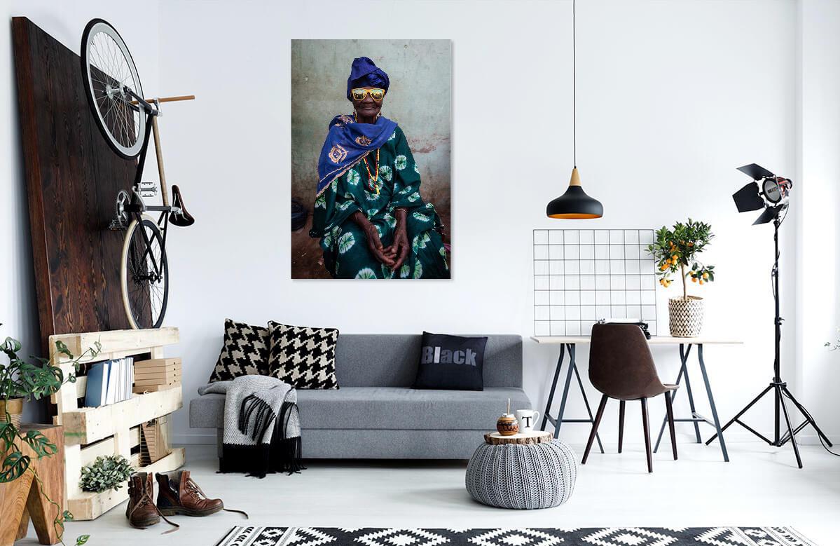 Portrait African lady by Ellis Photography