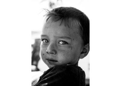 Portrait of a Romanian Boy